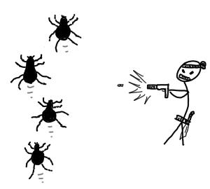 Hunting bugs